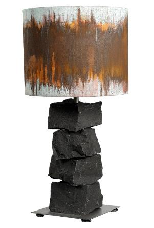 Bordlampe 50 - Basalt Rust